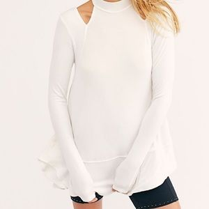 Free People downtown girl cold shoulder tunic